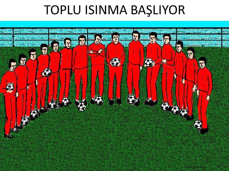 TOPLU ISINMA BAŞLIYOR Murat Başyazıcıoğlu