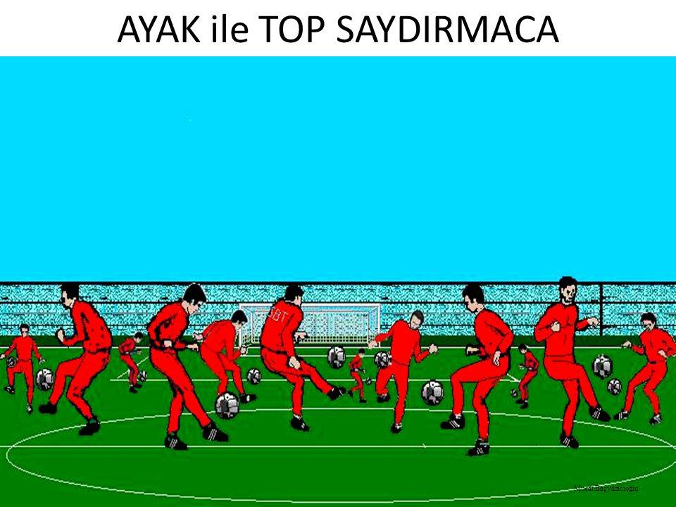 AYAK ile TOP SAYDIRMACA Murat Başyazıcıoğlu