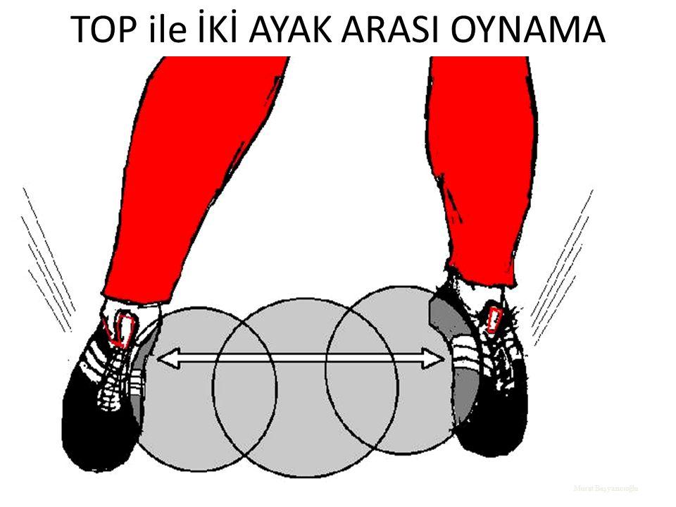 TOP ile İKİ AYAK ARASI OYNAMA Murat Başyazıcıoğlu