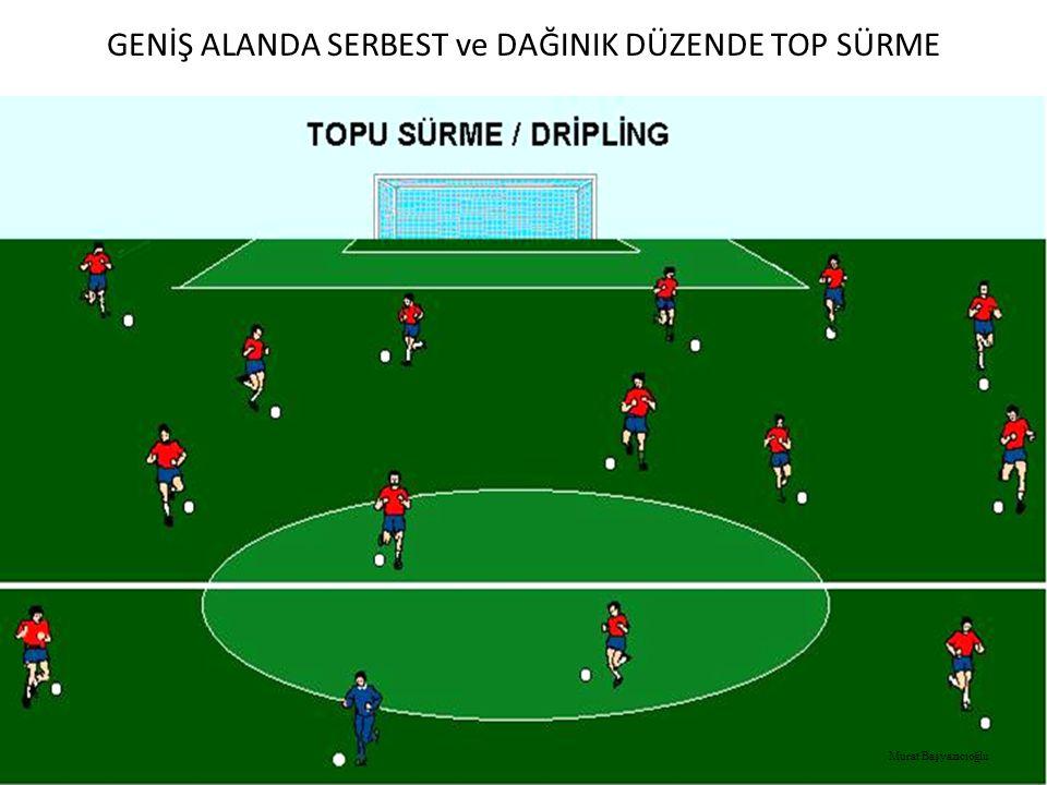 GENİŞ ALANDA SERBEST ve DAĞINIK DÜZENDE TOP SÜRME Murat Başyazıcıoğlu