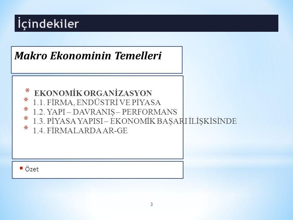 * Türkiye de ise endüstrilerin belirlenmesinde Devlet İstatistik Enstitüsünün (TÜİK) İktisadi Faaliyetleri sınıflandırmasından yararlanmak mümkündür.