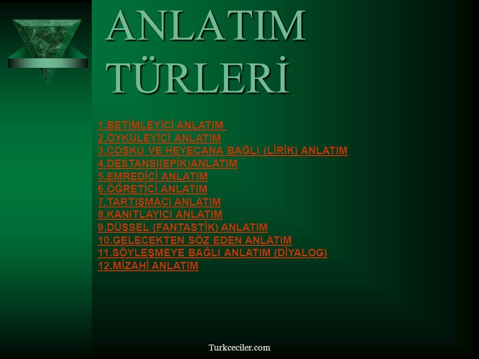 Turkceciler.com DİL ve ANLATIM DERSİ 10.