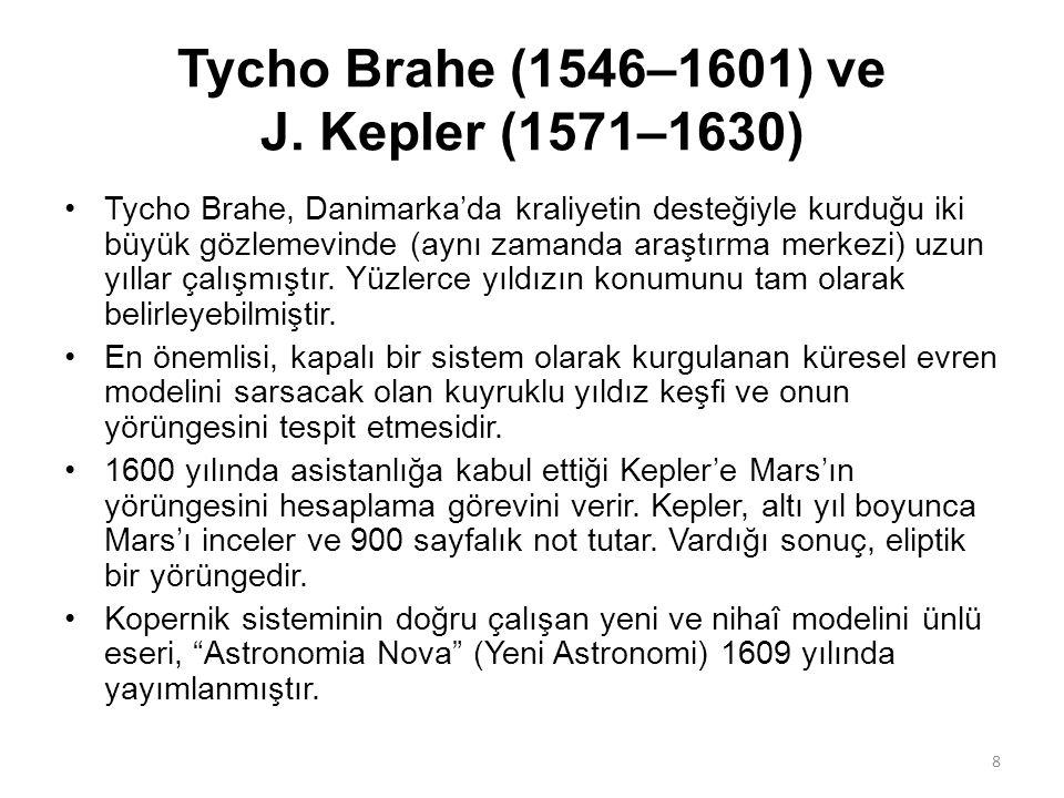 Tycho Brahe (1546–1601) ve J.
