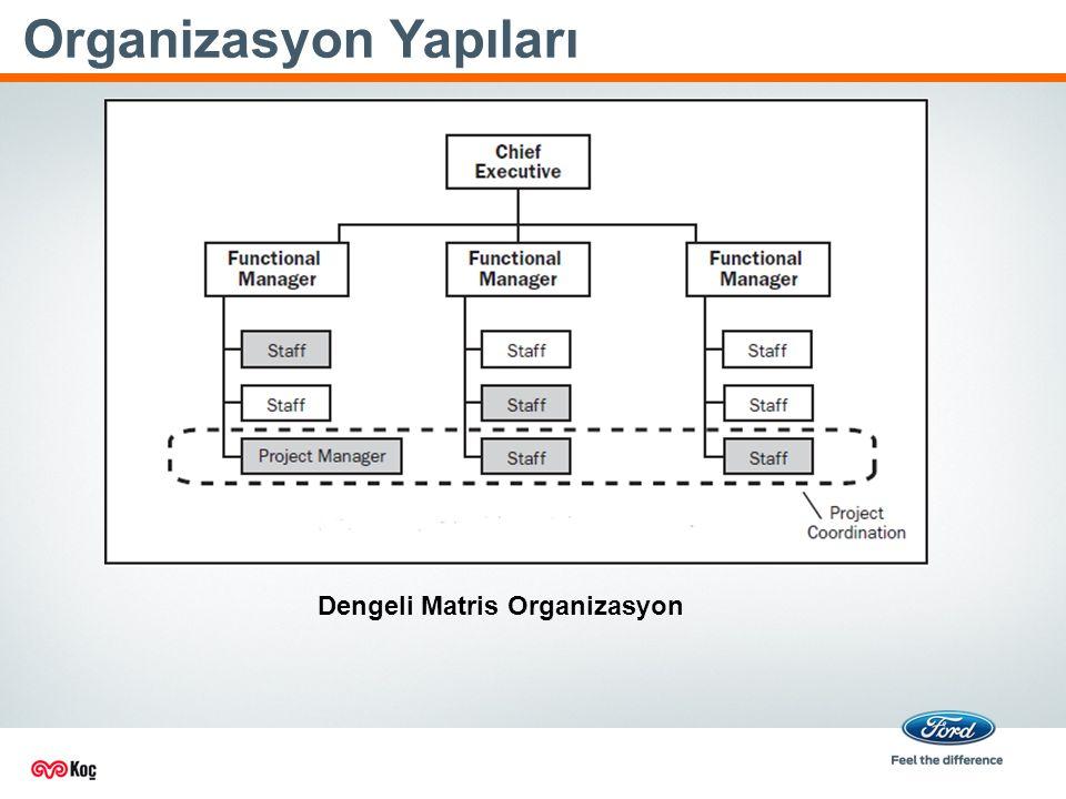 Organizasyon Yapıları Dengeli Matris Organizasyon