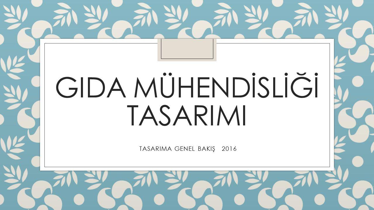 TASARIM ◦ Tasarım, belirli istekleri olası en iyi tarzda karşılamada harcanan tüm çabalardır: ◦  yaşamın yaklaşık tüm alanlarını etkiler ◦  bilimsel görüş / yasalara dayanır ◦  özel deneyimle gelişir ◦  çözümleri gerçekleştirme koşulları sağlar ◦  profesyonel işbirliği gerektirir