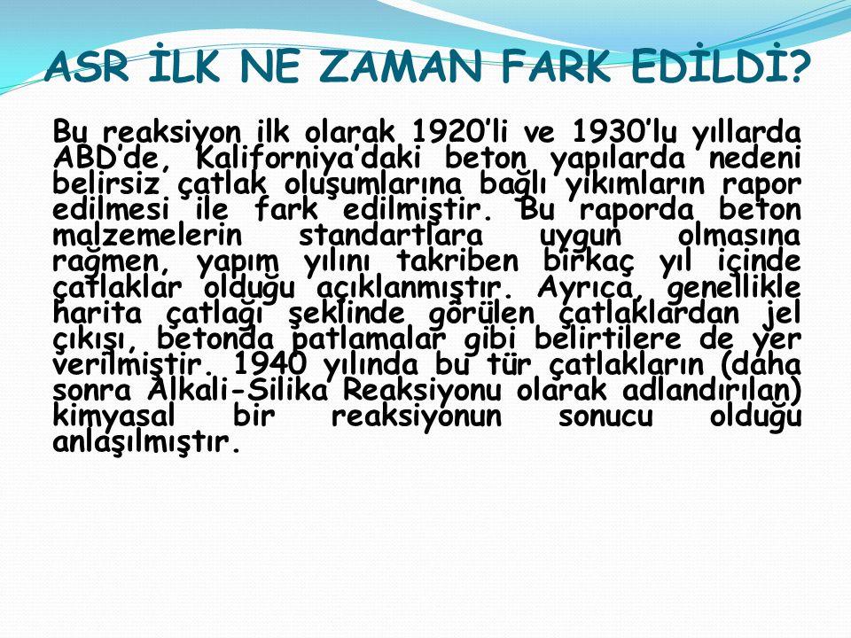 ASR NASIL GELİŞİR.