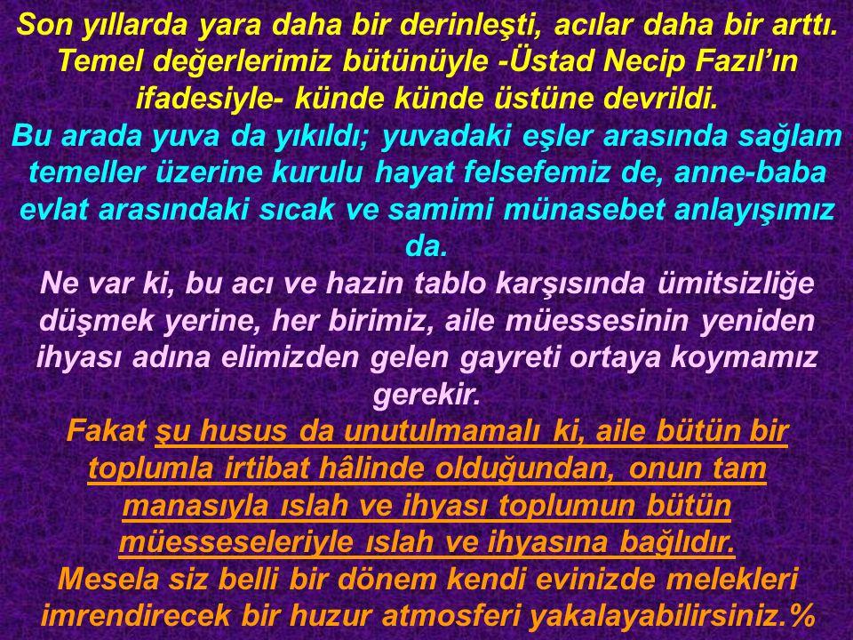 Yezid b.Muaviye şöyle anlatıyor: Babam (Muaviye) Ahnef b.