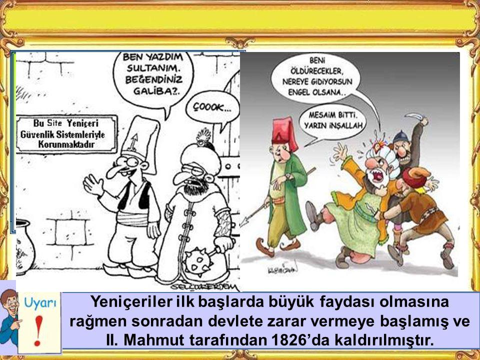 Kara Kuvvetleri Deniz Kuvvetleri Osmanlı Ordusu KAPIKULU ASKERLERİEYALET ASKERLERİ YARDIMCI KUVVETLER Acemi Ocağı Yeniçeriler Cebeciler Topçular Top Arabacısı Tımarlı Sipahiler Azaplar Akıncılar