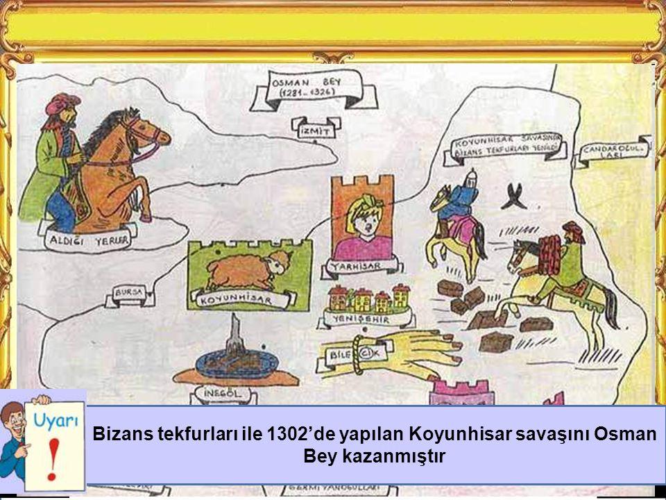 1371 Çirmen Savaşı 1402 Ankara Savaşı 1402-1413 Fetret Devri 1413-1421 Çelebi Mehmet 1421-1451 II.