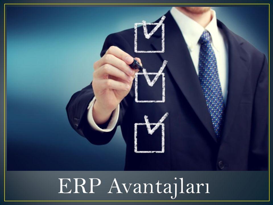 ERP Avantajları