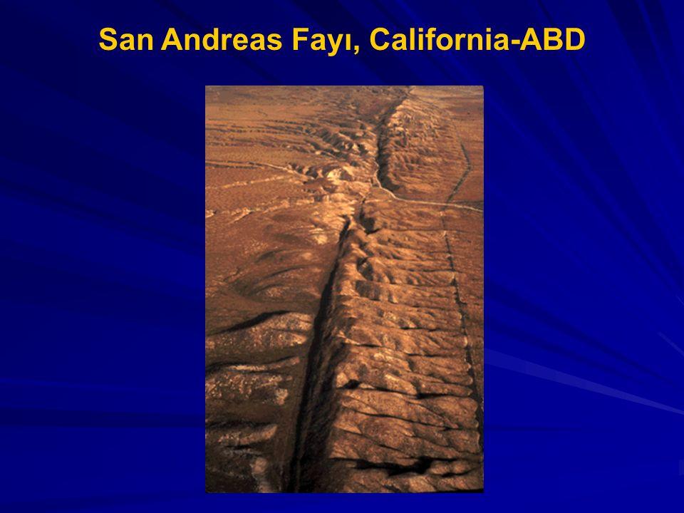 San Andreas Fayı, California-ABD