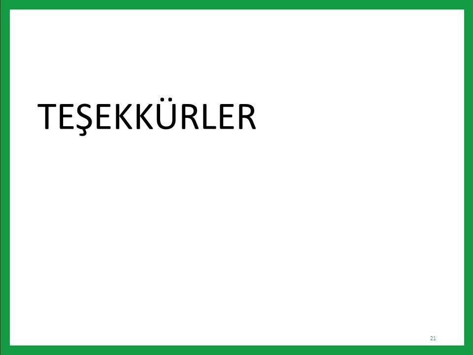 TEŞEKKÜRLER 21