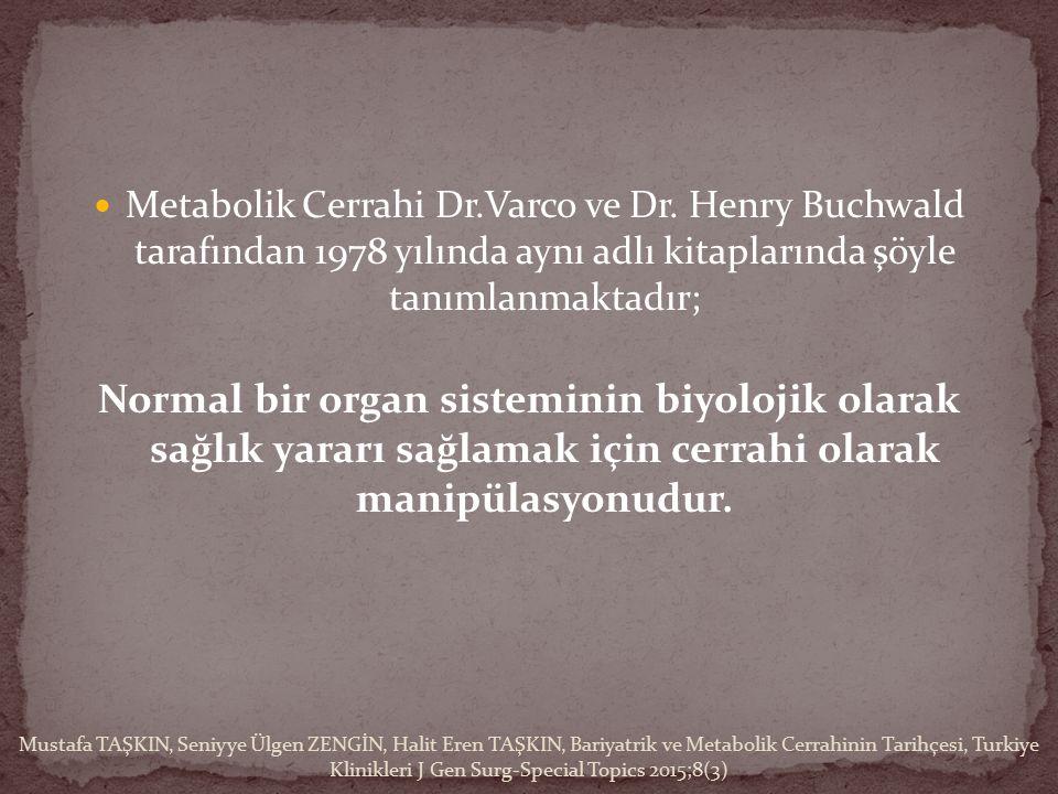 Metabolik Cerrahi Dr.Varco ve Dr.