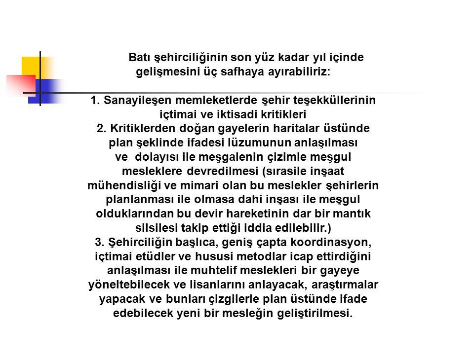 Ankara için 1927 senesinde düşünülmüş olan müsabakayı Türkiye`de bundan sonraki safhayı açmış olarak kabul edebiliriz.