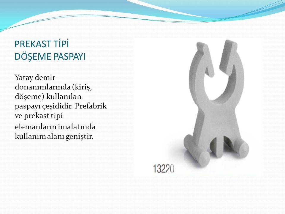 SEHPA TİPİ DÖŞEME PASPAYI (Genel Amaçlı) Döşemede en fazla kullanılan paspayı tipi olan sehpa tipi, kiriş üzerine asma kat uygulamaları vs.