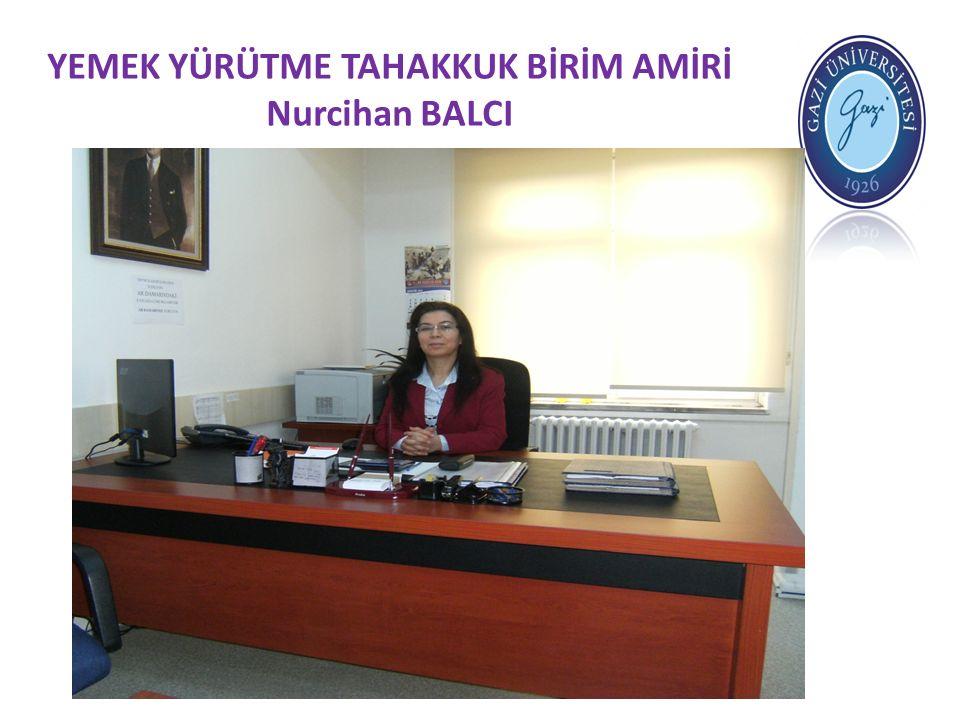 YEMEK KARTLARI İŞLEMLERİ Yemek kartları işlemlerini yapmak üzere Metin Erdoğan görevlendirilmiştir.