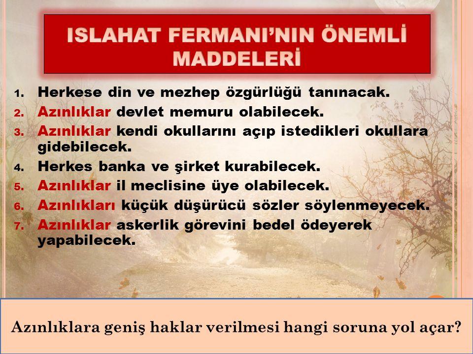 Ben de Mehmet Emin Ali Paşa.