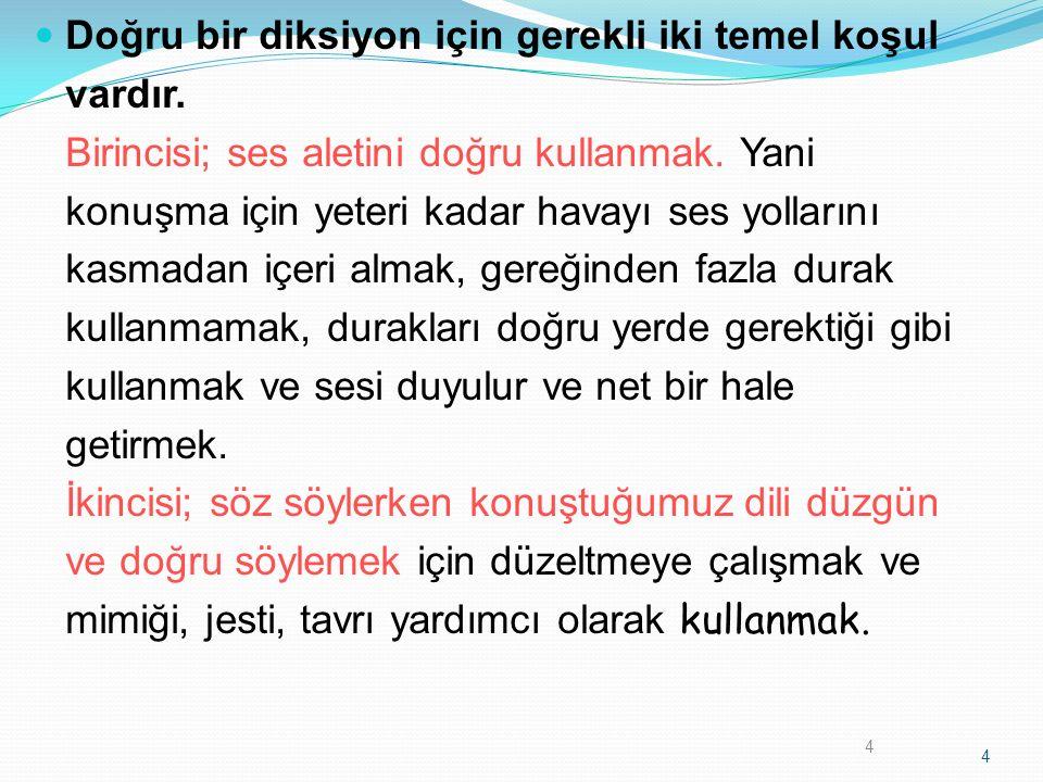 KİMLER DİKSİYON EĞİTİMİ ALMALIDIR .