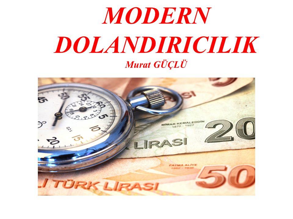 MODERN DOLANDIRICILIK Murat GÜÇLÜ