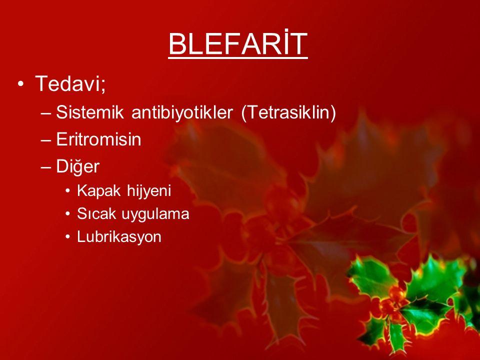 KONJONKTİVİT Bakteriyel Viral Klamidyal Allerjik Travma