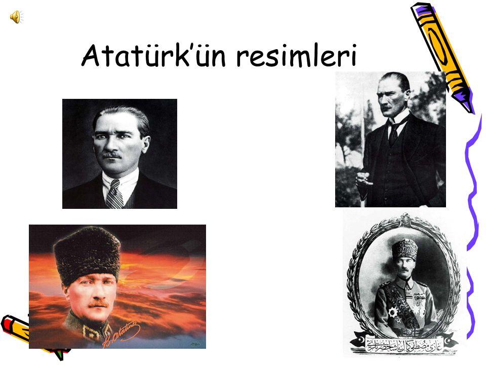 Atatürk'ün resimleri