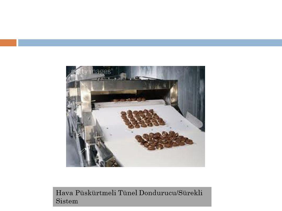 Hava Püskürtmeli Tünel Dondurucu/Sürekli Sistem