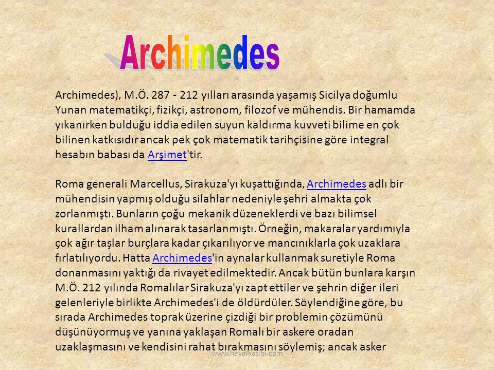 Archimedes), M.Ö.