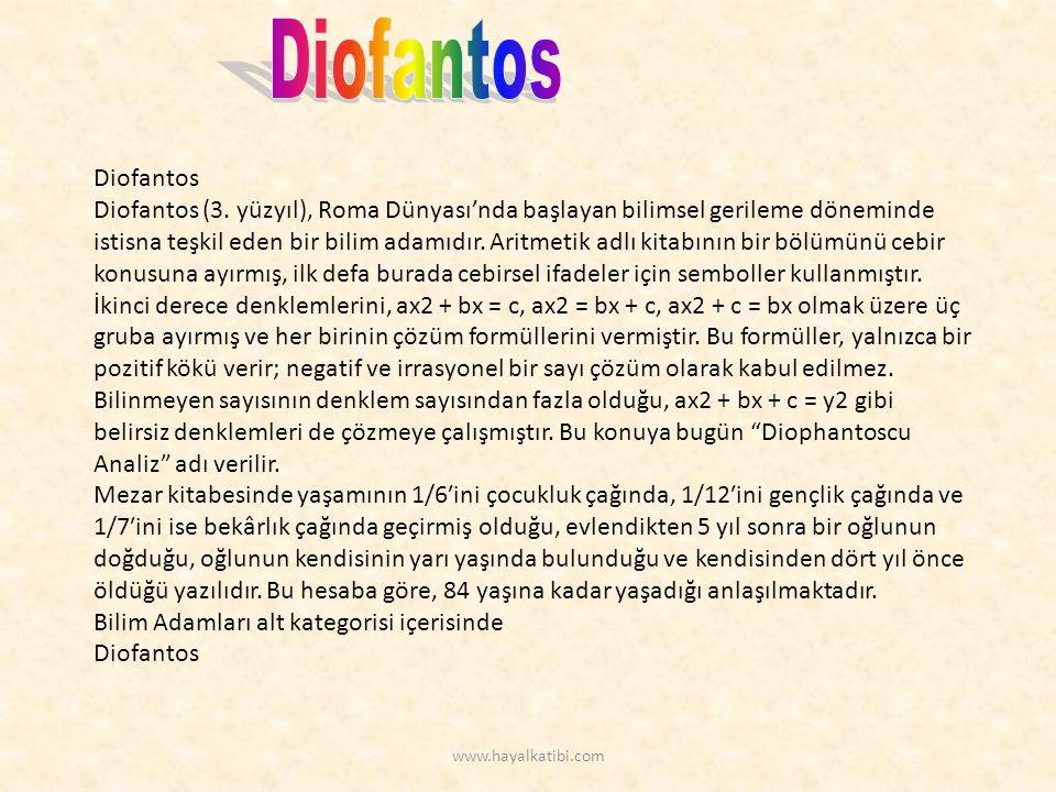 Diofantos Diofantos (3.