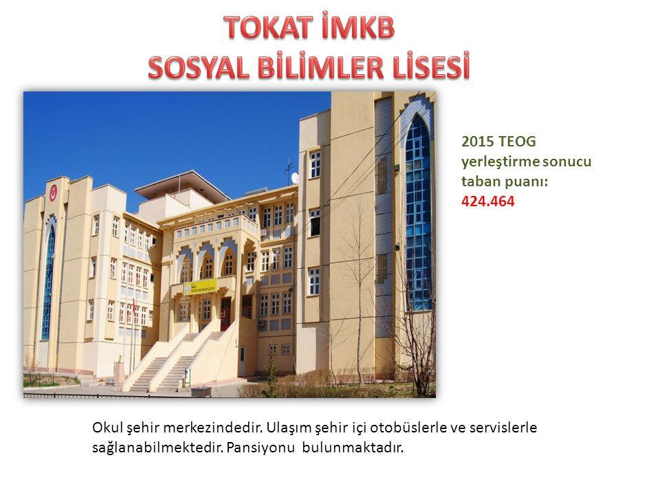 Okul şehir merkezine 7 km uzaklıktadır. Ulaşım şehir içi otobüslerle ve servislerle sağlanabilmektedir. Daha önceki senelerde Anadolu Öğretmen Lisesi