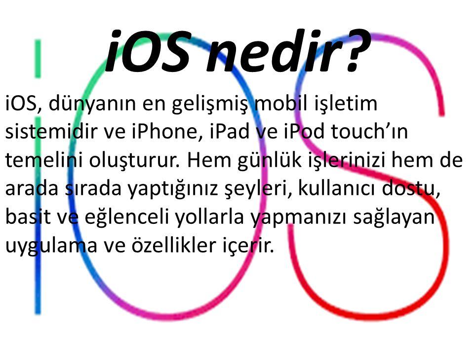 iOS nedir.