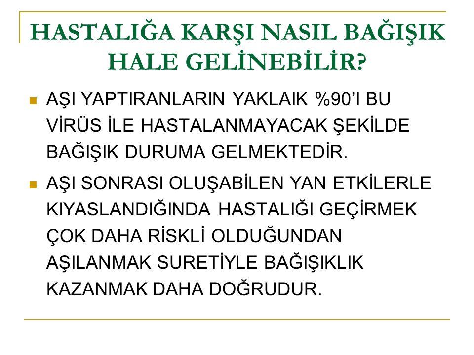 PANDEMİK AŞISI NİÇİN YAPILMAKTADIR.