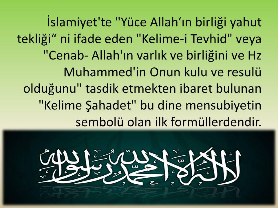 İslamiyet'te