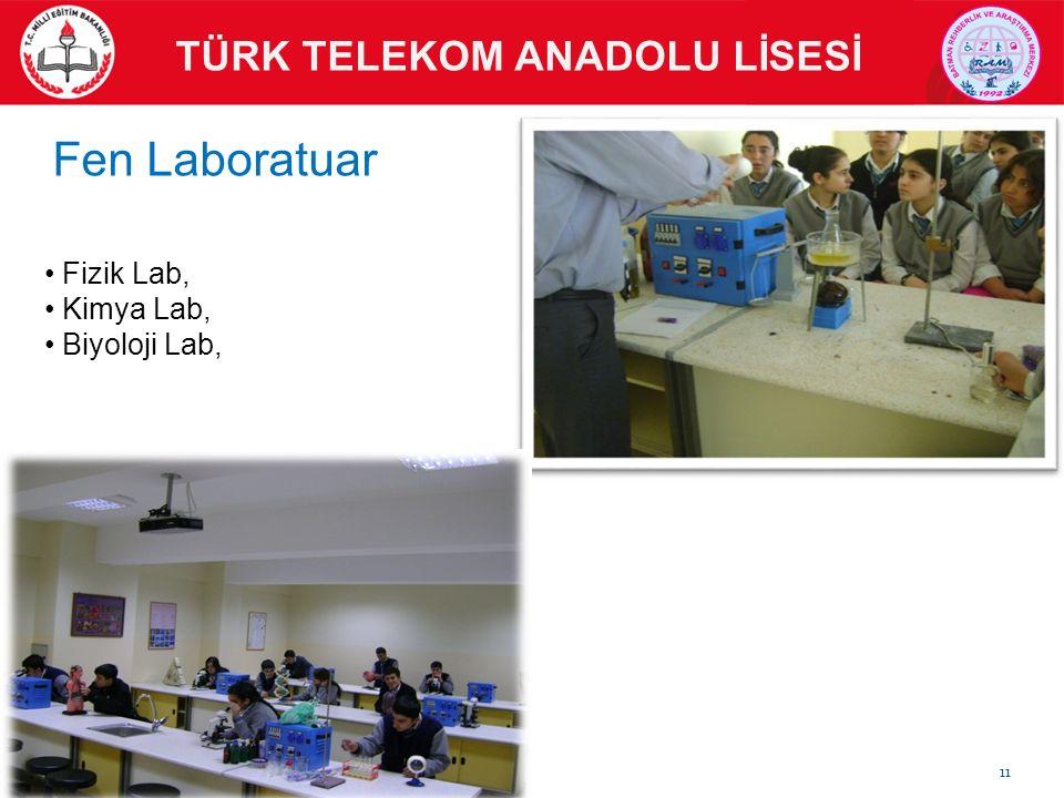 Fizik Lab, Kimya Lab, Biyoloji Lab, TÜRK TELEKOM ANADOLU LİSESİ Fen Laboratuar 11