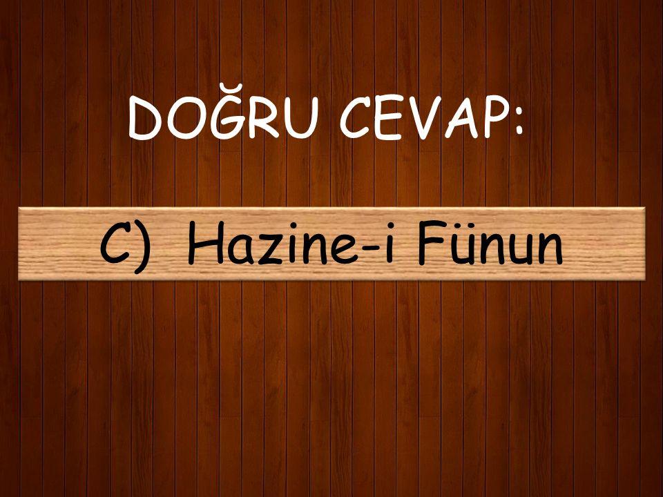 5) Mehmet Akif'in ilk şiiri hangi dergide yayınlandı? A) Darül Bedayi B) Şiir Mecmuası C) Hazine-i Fünun D) Darülfünun