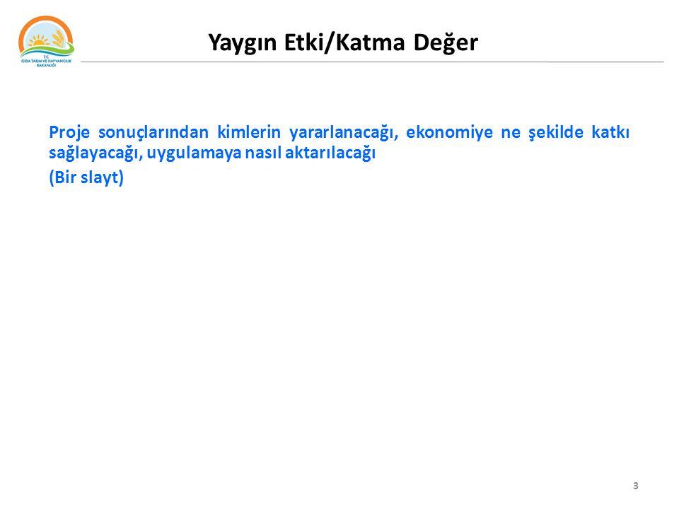 4 Yöntem Projenin nasıl yapılmasının planlandığı (detaya girmeden kısa olarak) (Bir slayt)