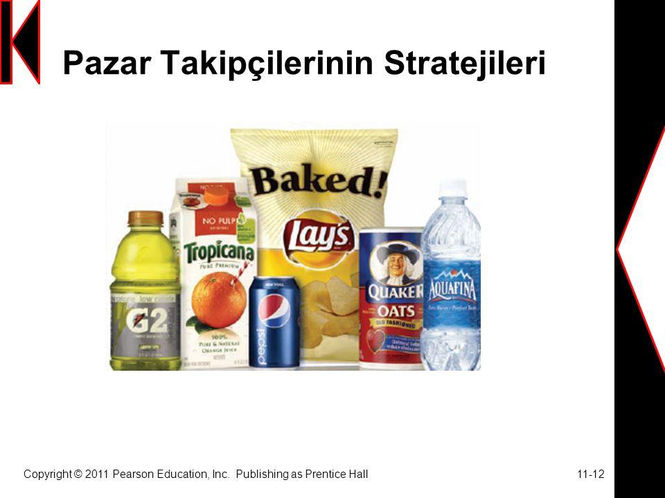 Pazar Takipçilerinin Stratejileri Copyright © 2011 Pearson Education, Inc.