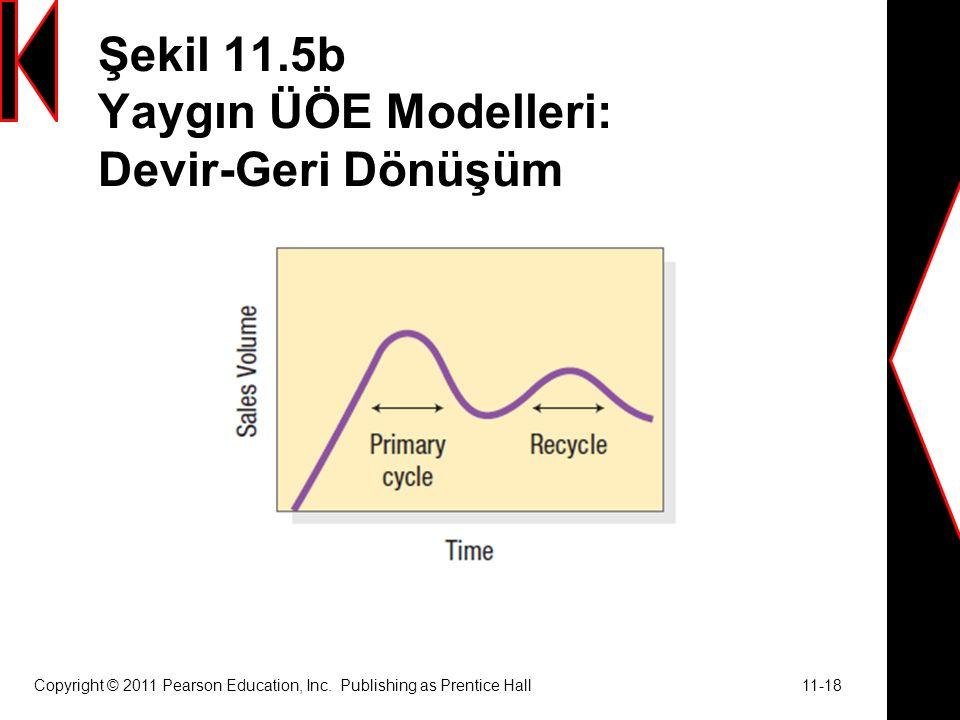 Şekil 11.5b Yaygın ÜÖE Modelleri: Devir-Geri Dönüşüm Copyright © 2011 Pearson Education, Inc.