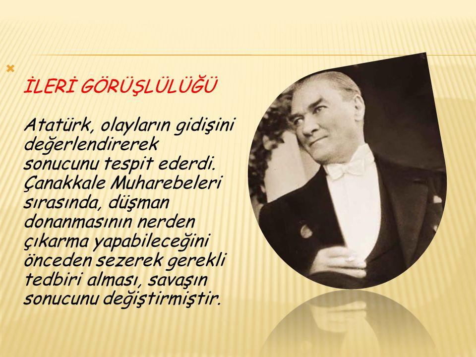 Saltanatın kaldırılması (1 Kasım 1922) Cumhuriyetin ilanı (29 Ekim 1923) Halifeliğin kaldırılması (3 Mart 1924) Şeriye ve Evkaf Vekâleti nin kaldırılması (3 Mart 1924) Eğitim ve öğretim devrimi (3 Mart 1924) Şapka ve kıyafet devrimi (25 Kasım 1925) Tarikatların kaldırılması, tekke ve zaviyelerin kapatılması (30 Kasım 1925) Medeni Kanun un kabulü (17 Şubat 1926) Laikliğin kabulü (1928-1937) Harf ya da yazı devrimi (1 Kasım 1928) Tarih anlayışında gerçeğe dönüş (12 Nisan 1931) Takvim, saat ve ölçülerde değişiklik (1925 ve 1931) Dil devrimi (12 Temmuz 1932) Kadın haklarının tanınması (1930-1933 ve 1934) Soyadı yasasının kabulü (21 Haziran 1934)
