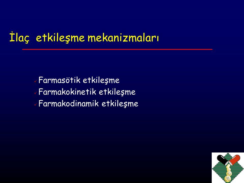 Farmasötik etkileşme Kimyasal inaktivasyon nitrogliserinin + PVC insulinin + plastik heparin + protaminin terapötik Fiziksel uyumsuzluk venöz oklüzyon venöz irritasyon emboli granülom !!.
