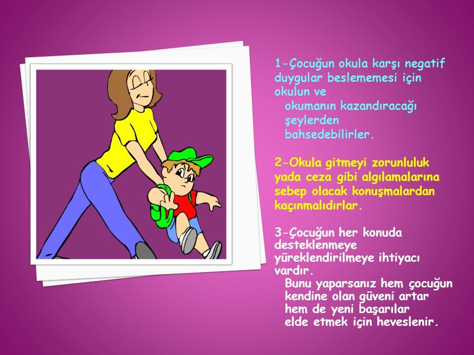 İlkokul döneminde ailenin ve öğretmenin çocuğa karşı olan tutumu onun benlik algısını olumlu yada olumsuz etkiler.