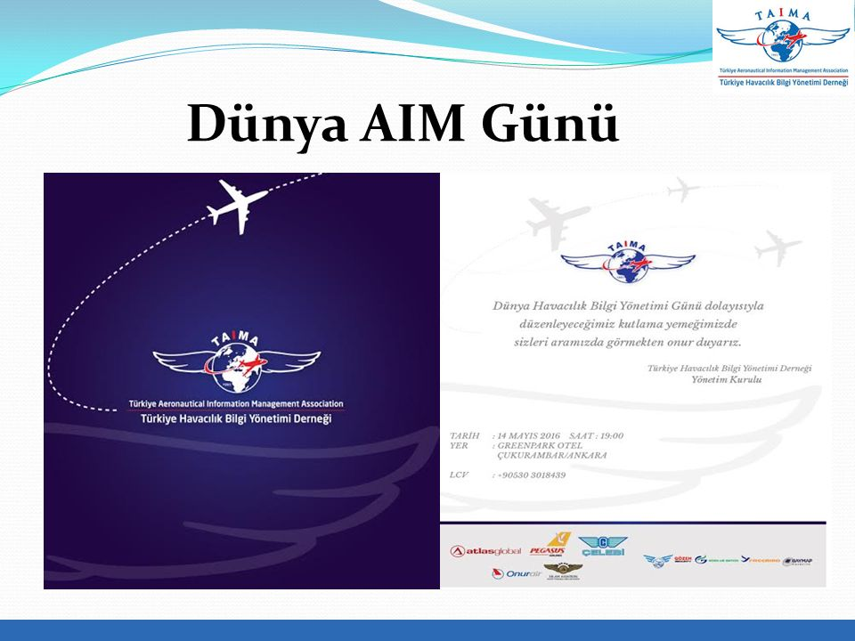  2000'lerin başlarında Yeni ATM Sistemi kapsamında ICAO tarafından AIS-AIM'e geçiş kararı alındı  2008 yılında AIS-AIM Geçiş Süreci kapsamında gerekli düzenlemelerin yapılması amacıyla ICAO bünyesinde AIS/AIM Çalışma Grubu (AIS-AIMÇG) oluşturuldu  2009 yılında ICAO tarafından AIS-AIM Geçiş Yol Haritası dokümanı yayımlandı AIS–AIM Geçiş Süreci-I