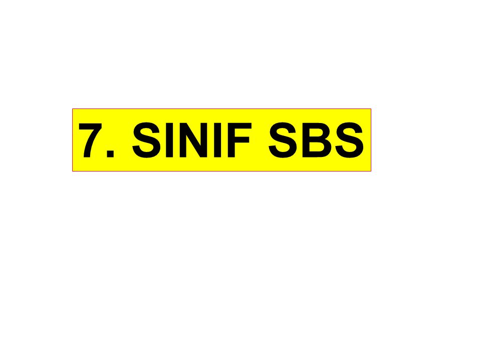 7. SINIF SBS