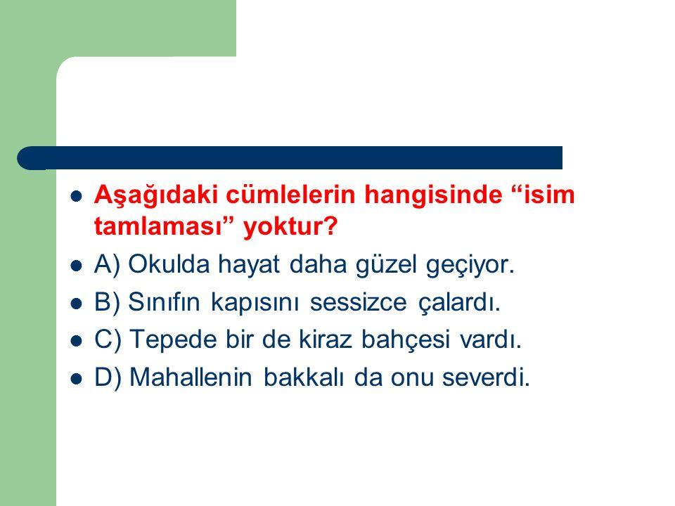Aşağıdaki sözcüklerin hangisinde kaynaştırma sesi yoktur? A) Ütüyü B) Bacası C) Kapının D) Kardeşi