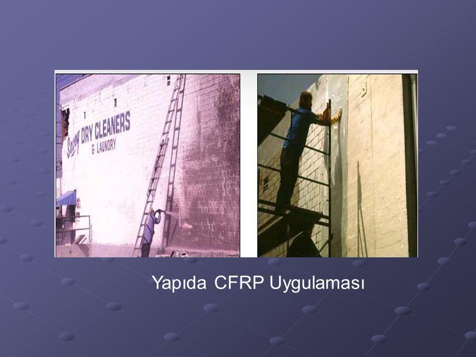 Yapıda CFRP Uygulaması