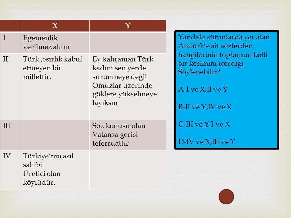 XY IEgemenlik verilmez alınır IITürk,esirlik kabul etmeyen bir millettir.