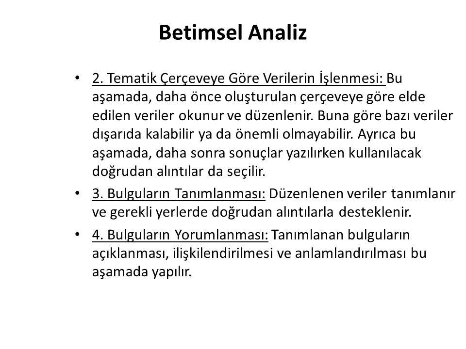 Betimsel Analiz 2.