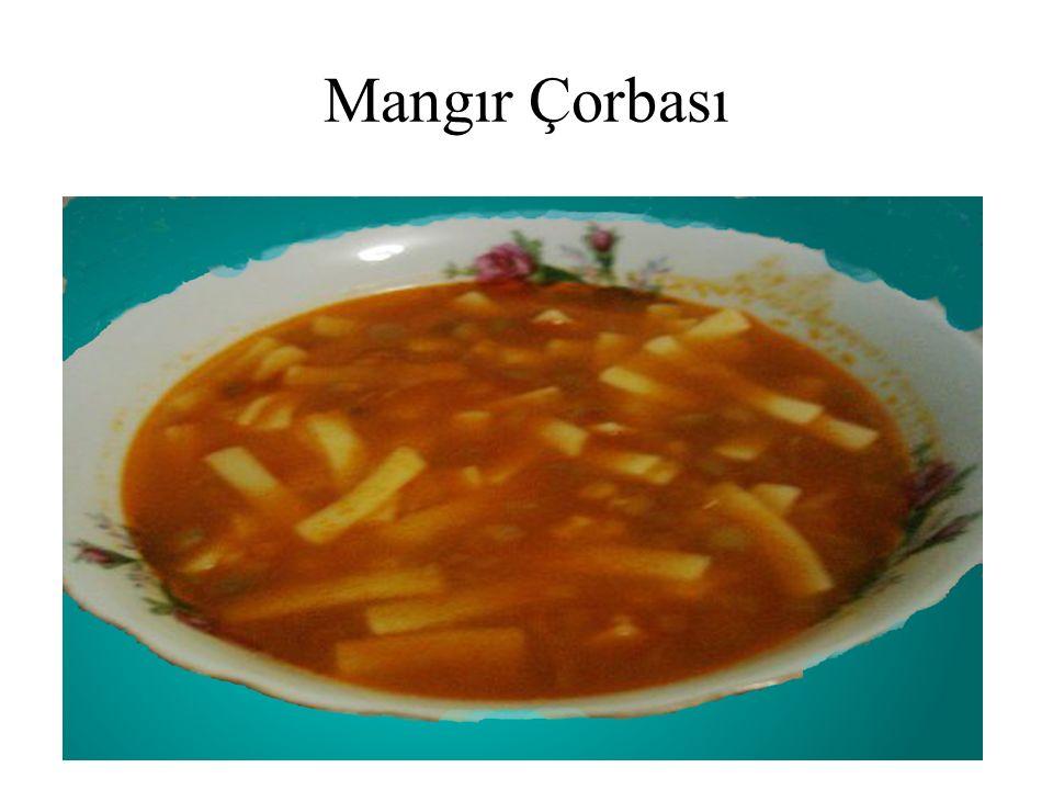 Mangır Çorbası