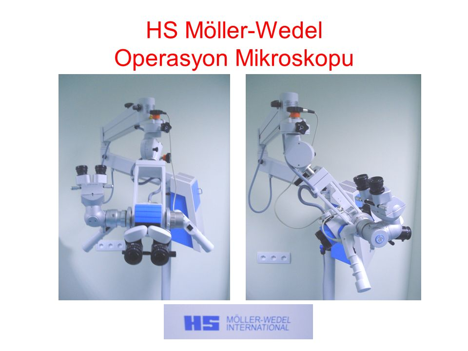 HS Möller-Wedel Operasyon Mikroskopu