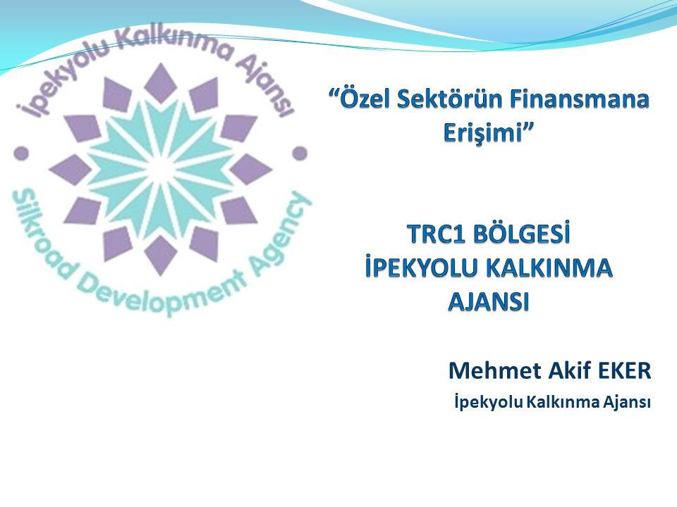 Mehmet Akif EKER İpekyolu Kalkınma Ajansı