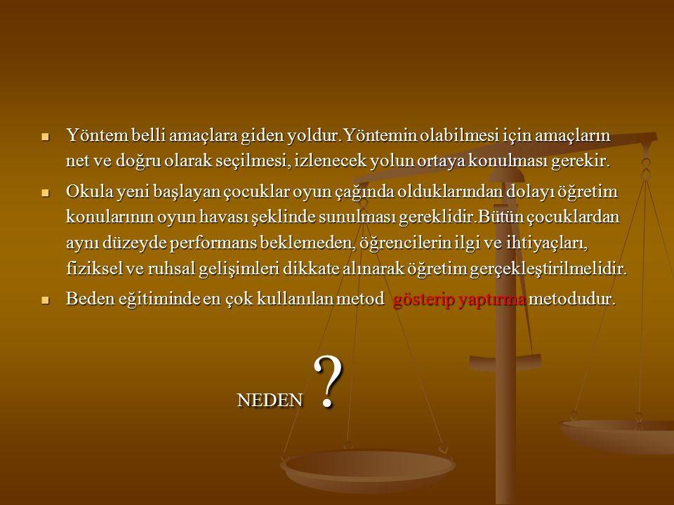GÖSTERİ YÖNTEMİ ( http://www.komek.org )